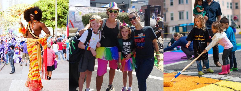 Oakland Pride ParadePiedmont Exedra